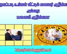 ஜாதகப்படி உங்கள் வீட்டில் கணவர் ஆதிக்கமா அல்லது மனைவி ஆதிக்கமா