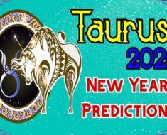 Taurus 2020 New Year Predictions