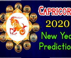 Capricorn 2020 New Year Predictions