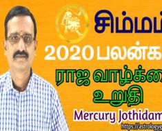 சிம்மம் 2020-ஆம் ஆண்டு பலன்கள்: ராஜ வாழ்க்கை உறுதி