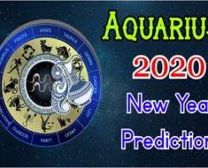 Aquarius 2020 New Year Predictions