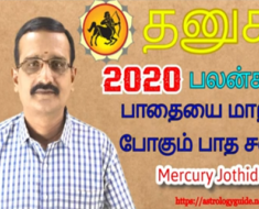 தனுசு 2020-ஆம் ஆண்டு பலன்கள்: பாதையை மாற்ற போகும் பாத சனி
