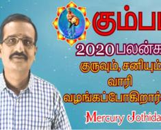 கும்பம் 2020-ஆம் ஆண்டு பலன்கள்: குருவும், சனியும் வாரி வழங்கப்போகிறார்கள்