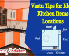 Vastu Tips for Ideal Kitchen Items Locations - Mercury Jothidam