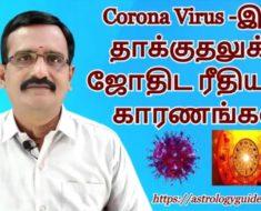 டிசம்பர் 26- ஆம் தேதியன்று ஆறு கிரக சேர்க்கையும், Coronavirus தாக்குதலும்