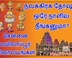 நவக்கிரக தோஷம் ஒரே நாளில் நீங்கனுமா ? மயிலாப்பூர் சிவாலயங்கள் சென்னை