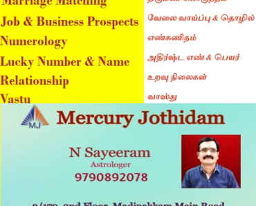 NCBS Colony Nanganallur Best Astrologer Numerologist Vastu Consultant Sayeeram Astrologer