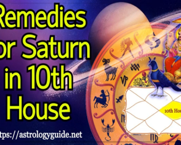 Remedies for Saturn in 10th House