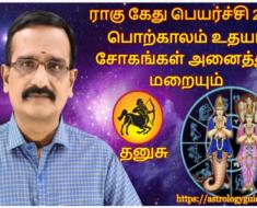 தனுசு ராகு கேது பெயர்ச்சி 2020: பொற்காலம் உதயம், சோகங்கள் அனைத்தும் மறையும்