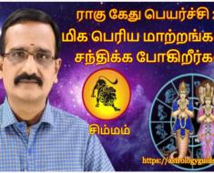 சிம்மம் ராகு - கேது பெயர்ச்சி 2020: மிக பெரிய மாற்றங்களை சந்திக்க போகிறீர்கள்