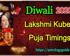 Diwali 2020: Lakshmi Kubera Puja Timings