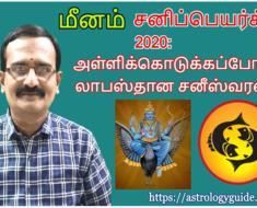 மீனம் சனிப்பெயர்ச்சி 2020: அள்ளிக்கொடுக்கப்போகும் லாபஸ்தான சனீஸ்வரன்